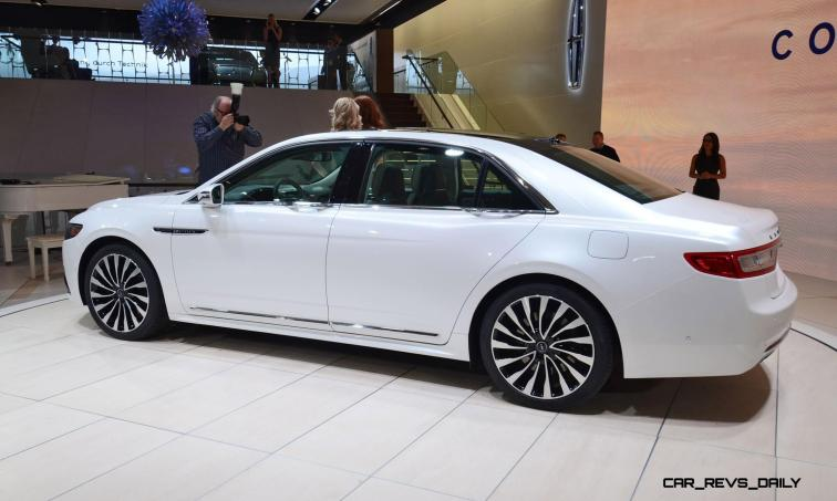 Best of NAIAS - 2017 Lincoln CONTINENTAL Limo 45
