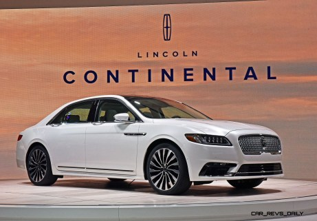 """Detroit, January 12, 2016 --€"""" Lincoln Motor Company today revealed the all-new Lincoln Continental at the North American International Auto Show. Beginning this fall, Continental offers first-class travel for clients in America and China, bringing warm, human touches and a contemporary design."""