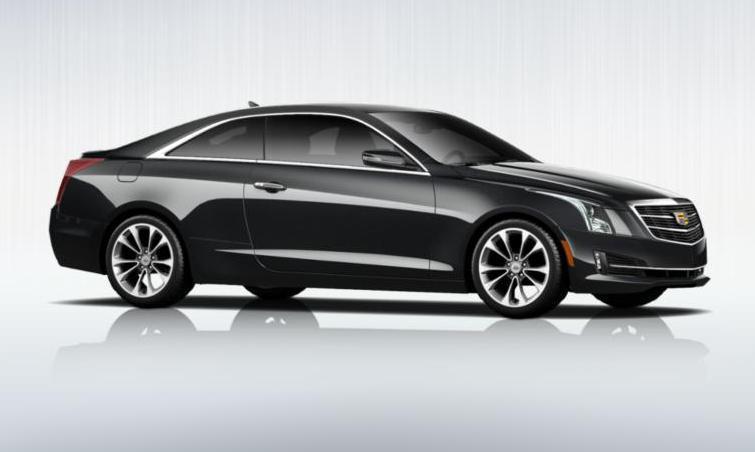 Black 2015 Cadillac ATS Coupe Premium 20