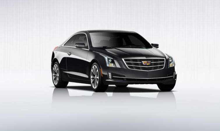 Black 2015 Cadillac ATS Coupe Premium 24