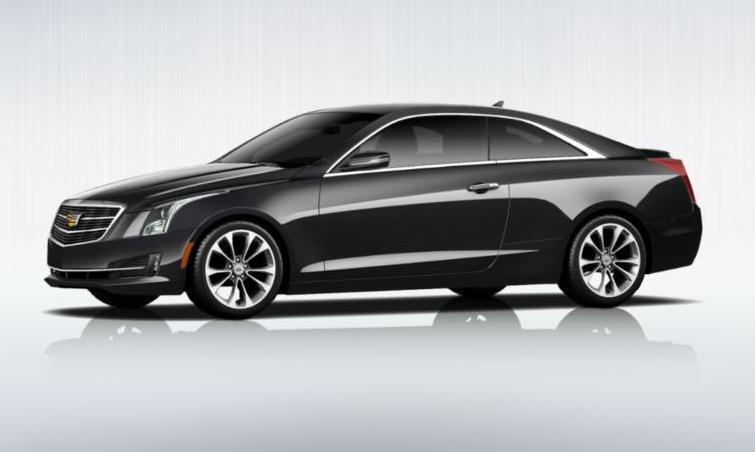 Black 2015 Cadillac ATS Coupe Premium 32