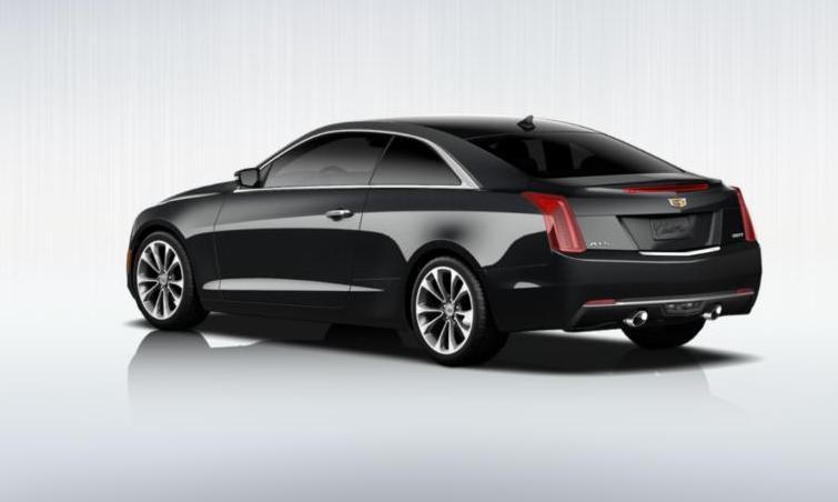 Black 2015 Cadillac ATS Coupe Premium 4