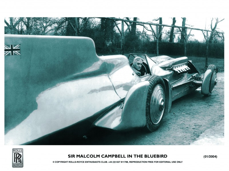 Bluebird V and Bluebird CN7 Reunited and Viewable by Public at Beaulieu National Motor Museum 4