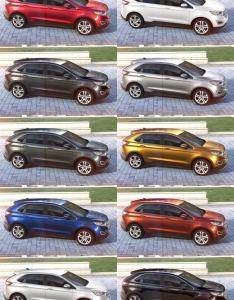 also ford edge visualizer all colors from every angle rh car revs daily