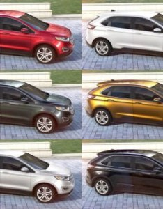 Ford edge colors header also visualizer all from every angle rh car revs daily