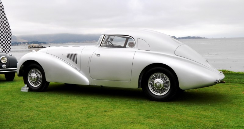 Car-Revs-Daily.com 1938 Mercedes-Benz 540K Streamliner is One-Off Coupe With Wrap-Around Glass and Aero-Smooth Design 5
