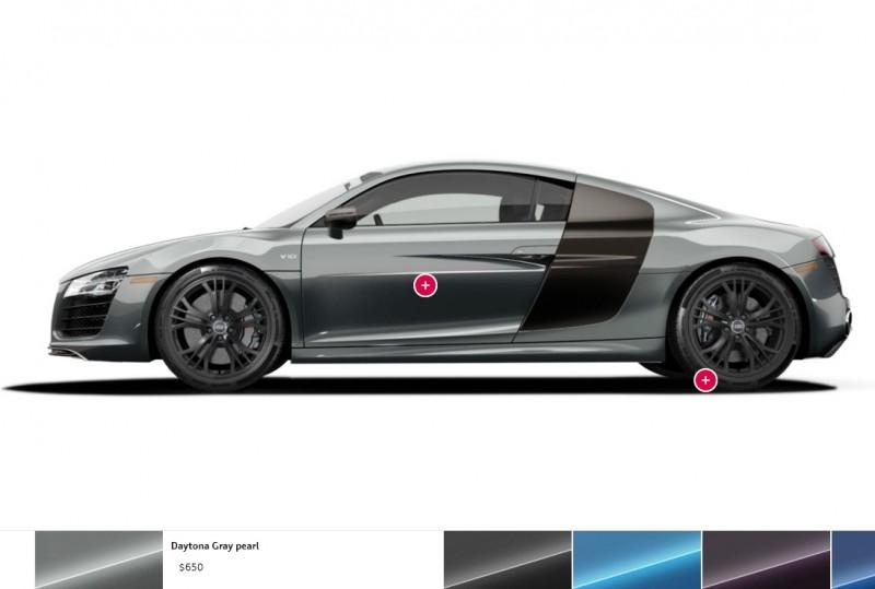 Car-Revs-Daily.com 2014 AUDI R8 V10 Plus in Sepang Matte Metallic Blue 102