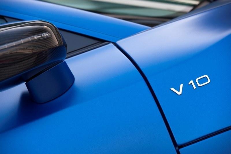 Car-Revs-Daily.com 2014 AUDI R8 V10 Plus in Sepang Matte Metallic Blue 2