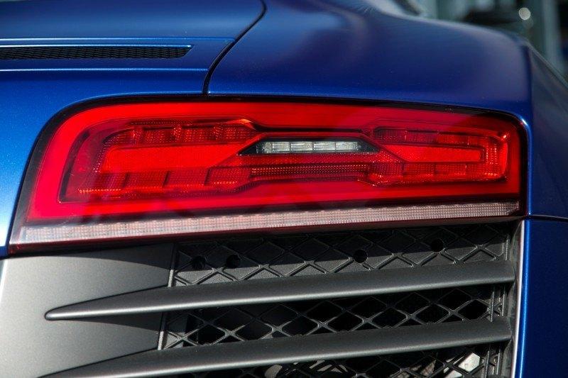 Car-Revs-Daily.com 2014 AUDI R8 V10 Plus in Sepang Matte Metallic Blue 33
