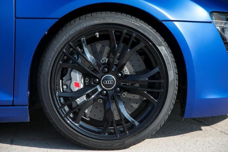 Car-Revs-Daily.com 2014 AUDI R8 V10 Plus in Sepang Matte Metallic Blue 42