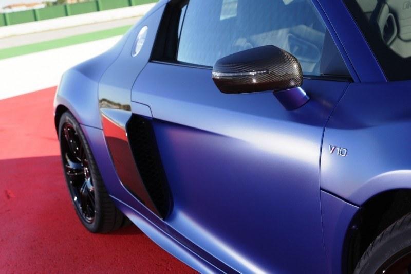 Car-Revs-Daily.com 2014 AUDI R8 V10 Plus in Sepang Matte Metallic Blue 52