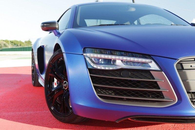 Car-Revs-Daily.com 2014 AUDI R8 V10 Plus in Sepang Matte Metallic Blue 57