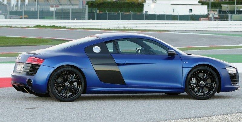 Car-Revs-Daily.com 2014 AUDI R8 V10 Plus in Sepang Matte Metallic Blue 75