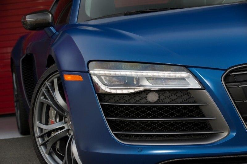 Car-Revs-Daily.com 2014 AUDI R8 V10 Plus in Sepang Matte Metallic Blue 91
