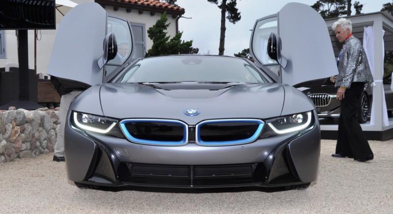 Car-Revs-Daily.com 2014 BMW i8 Pebble Beach Concours d'Elegance Edition 12