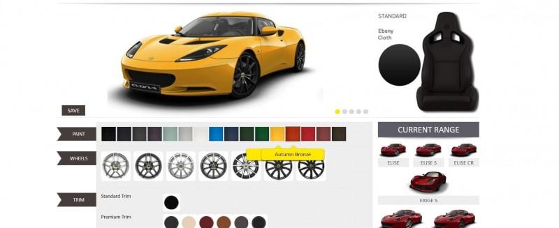 Car-Revs-Daily.com 2014 LOTUS Evora and Evora S - USA Buyers Guide - Specs, Colors and Options 32