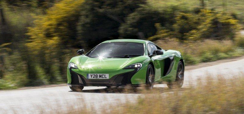 Car-Revs-Daily.com 2014 McLaren 650S Coupe and Spider Launch Ascari Circuit 102