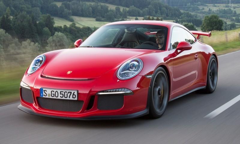 Car-Revs-Daily.com 2014 Porsche 911 GT3 is Race-Ready Street Car 12