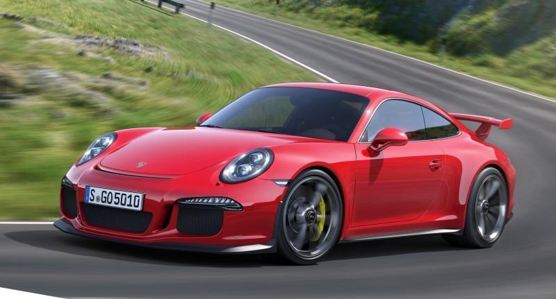 Car-Revs-Daily.com 2014 Porsche 911 GT3 is Race-Ready Street Car 24