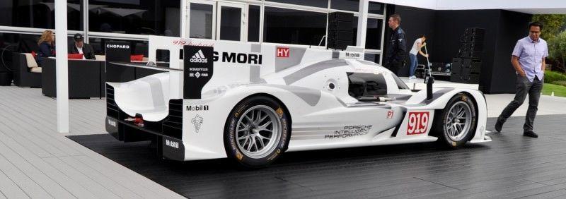 Car-Revs-Daily.com 2014 Porsche 919 LMP1 Racecar at the Quail 14