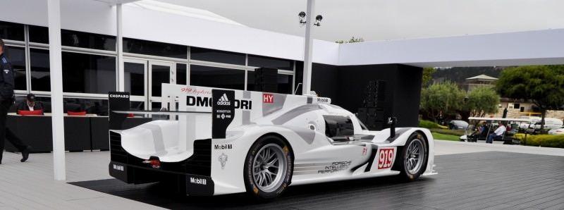 Car-Revs-Daily.com 2014 Porsche 919 LMP1 Racecar at the Quail 17