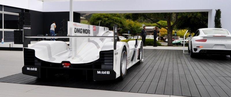 Car-Revs-Daily.com 2014 Porsche 919 LMP1 Racecar at the Quail 22