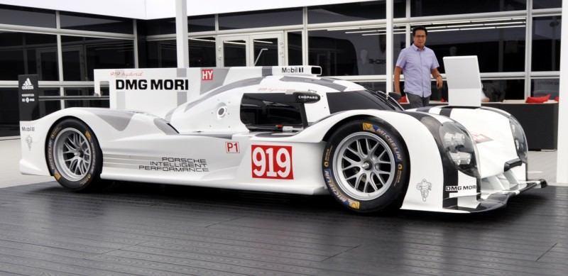 Car-Revs-Daily.com 2014 Porsche 919 LMP1 Racecar at the Quail 3