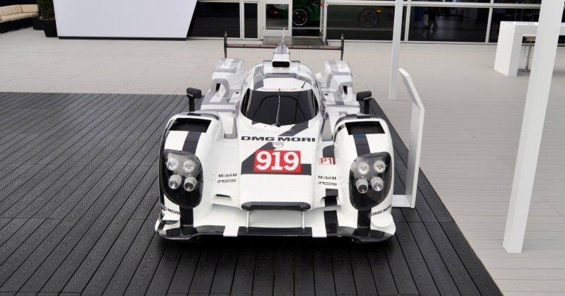 Car-Revs-Daily.com 2014 Porsche 919 LMP1 Racecar at the Quail 49