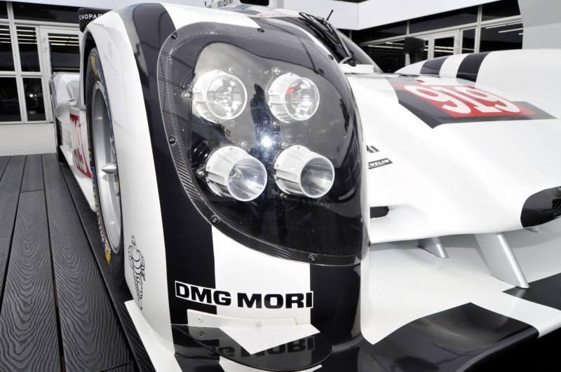 Car-Revs-Daily.com 2014 Porsche 919 LMP1 Racecar at the Quail 59