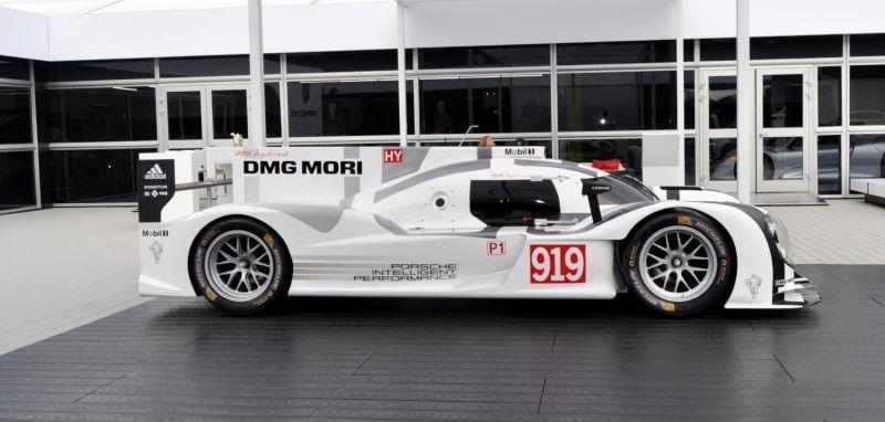 Car-Revs-Daily.com 2014 Porsche 919 LMP1 Racecar at the Quail 7
