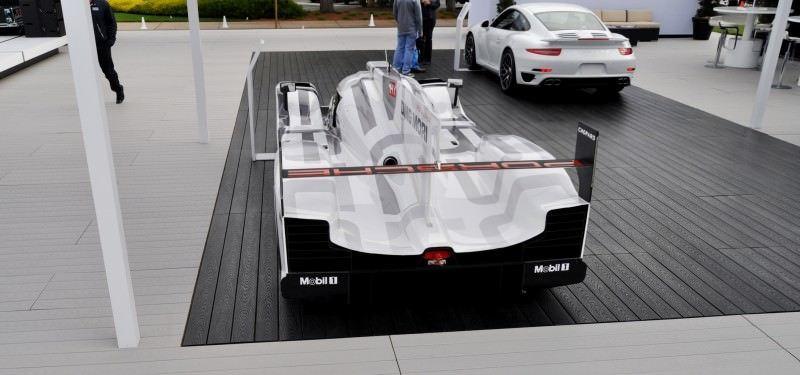 Car-Revs-Daily.com 2014 Porsche 919 LMP1 Racecar at the Quail 75