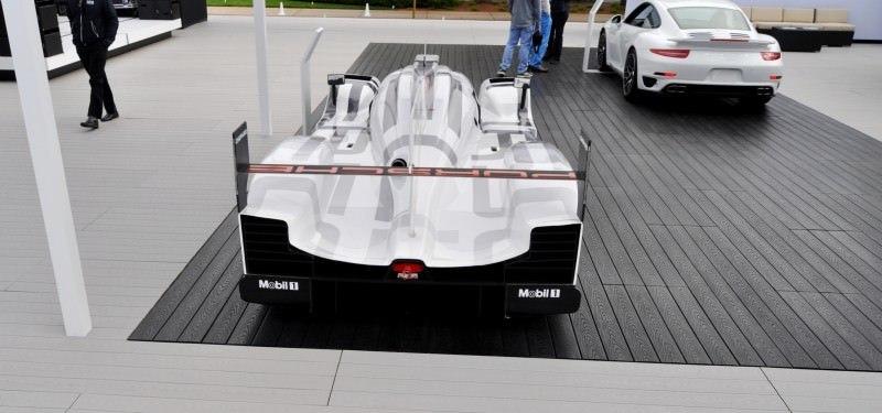 Car-Revs-Daily.com 2014 Porsche 919 LMP1 Racecar at the Quail 77