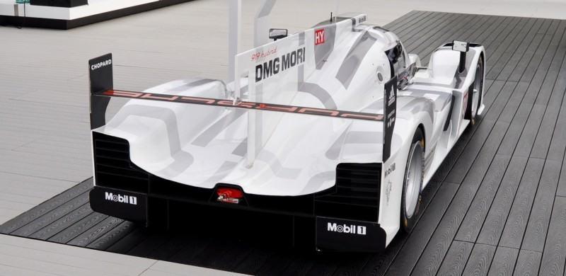 Car-Revs-Daily.com 2014 Porsche 919 LMP1 Racecar at the Quail 79