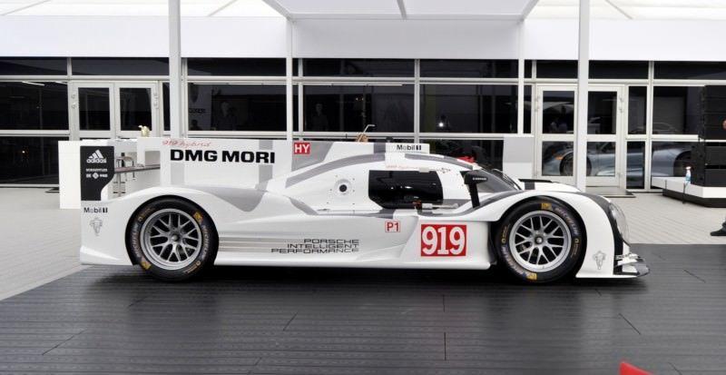 Car-Revs-Daily.com 2014 Porsche 919 LMP1 Racecar at the Quail 8