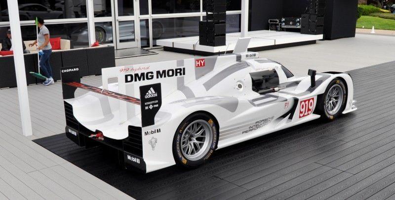 Car-Revs-Daily.com 2014 Porsche 919 LMP1 Racecar at the Quail 88