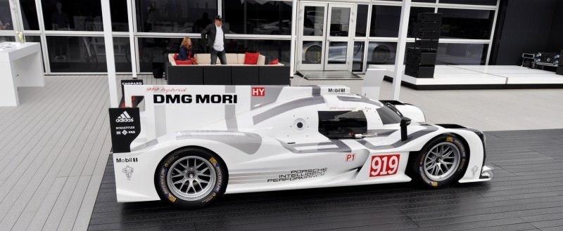 Car-Revs-Daily.com 2014 Porsche 919 LMP1 Racecar at the Quail 96