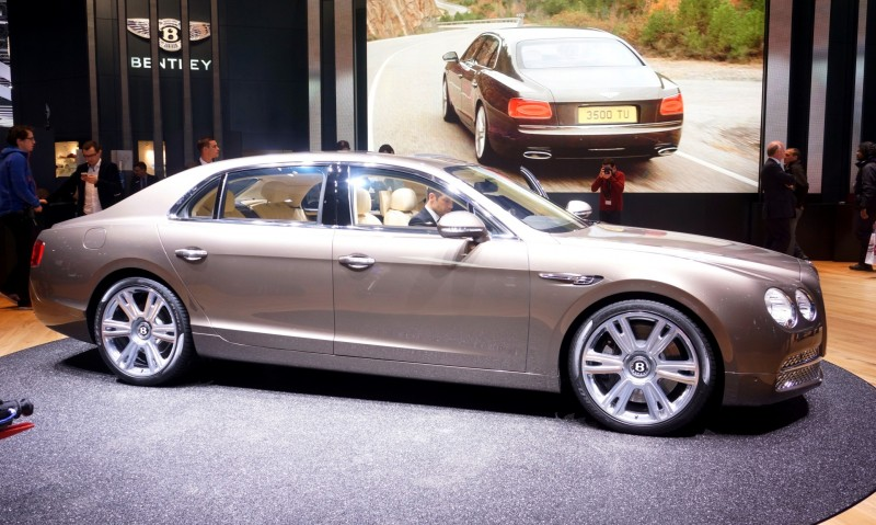 Car-Revs-Daily.com 2015 Bentley Flying Spur V8 Debuts in Moscow 1