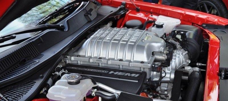 Car-Revs-Daily.com - 2015 Dodge Challenger SRT Hellcat Debut Photos and Video 46