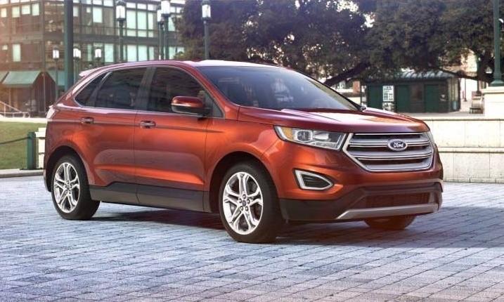 Car-Revs-Daily.com 2015 Ford Edge - BRONZE 31