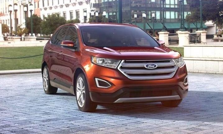 Car-Revs-Daily.com 2015 Ford Edge - BRONZE 33