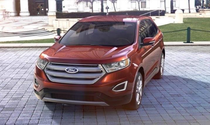 Car-Revs-Daily.com 2015 Ford Edge - BRONZE 36