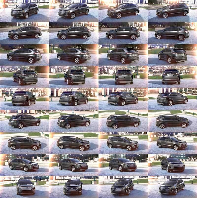 Car-Revs-Daily.com 2015 Ford Edge - Magnetic grey 1