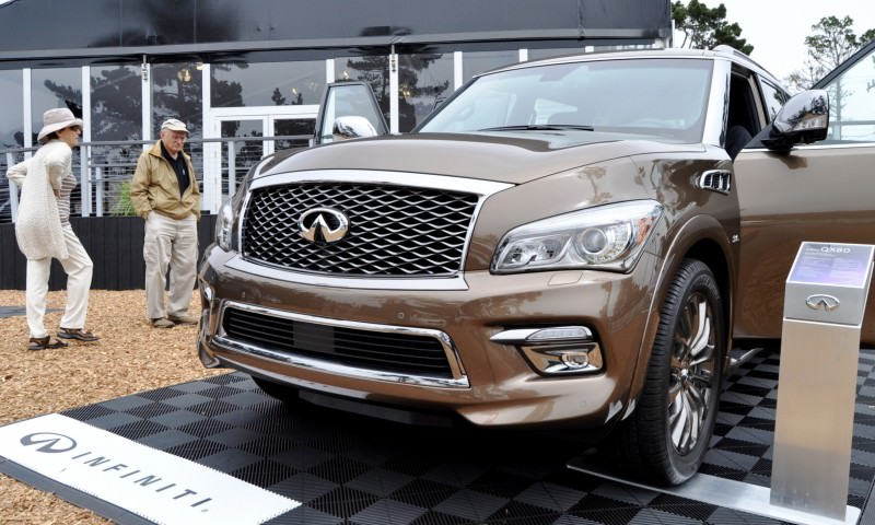 Car-Revs-Daily.com 2015 INFINITI QX80 Limited Pebble Beach 104