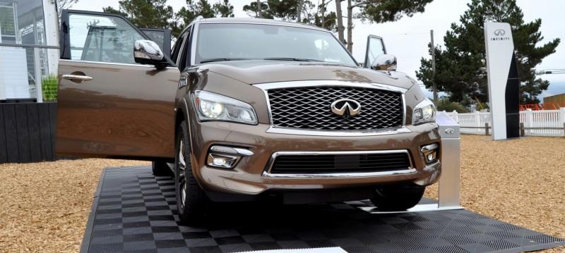 Car-Revs-Daily.com 2015 INFINITI QX80 Limited Pebble Beach 129