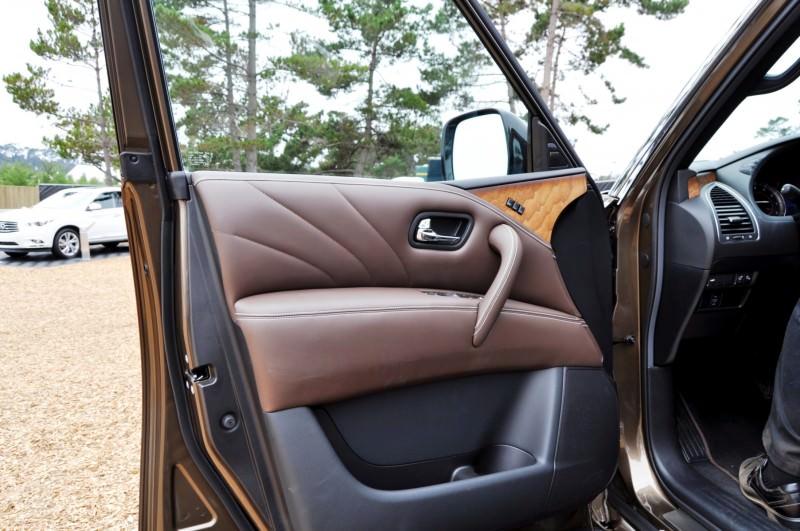 Car-Revs-Daily.com 2015 INFINITI QX80 Limited Pebble Beach 138