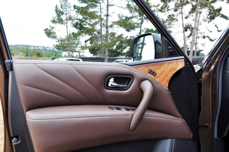 Car-Revs-Daily.com 2015 INFINITI QX80 Limited Pebble Beach 140