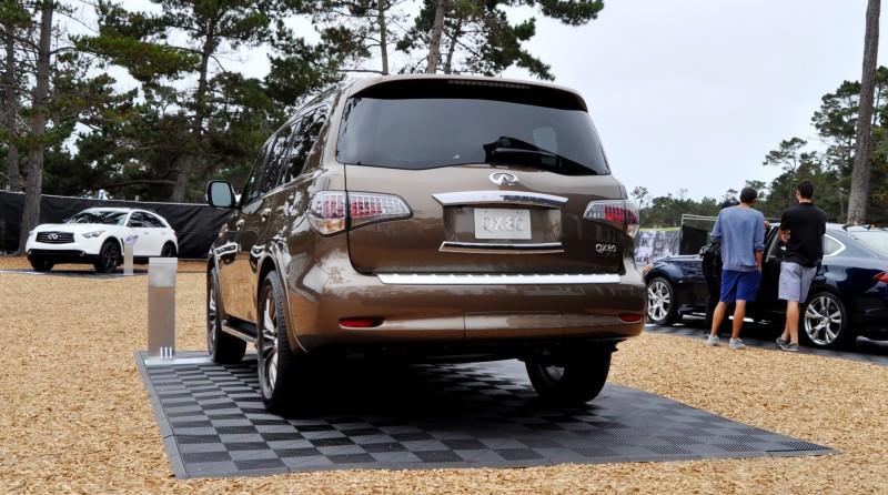 Car-Revs-Daily.com 2015 INFINITI QX80 Limited Pebble Beach 50