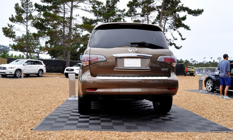 Car-Revs-Daily.com 2015 INFINITI QX80 Limited Pebble Beach 53
