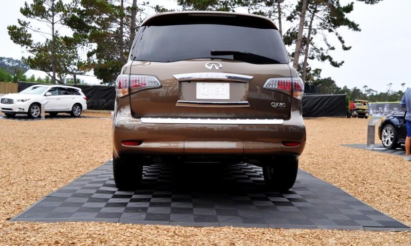 Car-Revs-Daily.com 2015 INFINITI QX80 Limited Pebble Beach 55