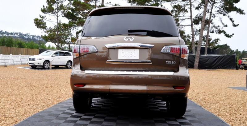 Car-Revs-Daily.com 2015 INFINITI QX80 Limited Pebble Beach 56